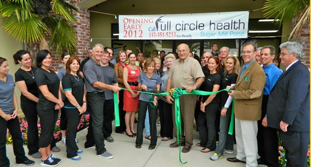 Full Circle Health Ribbon Cutting