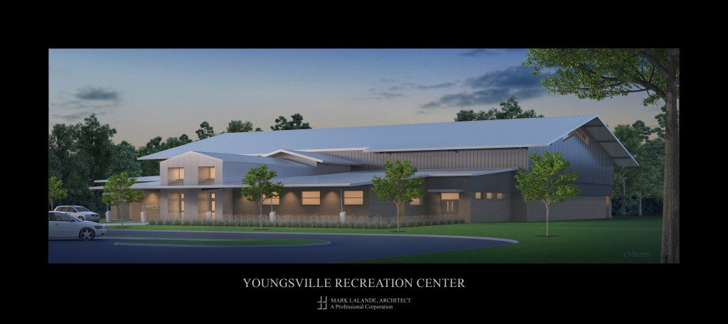 Youngsville Recreation Center layout copy