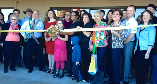 Granger Eye Studio Ribbon Cutting