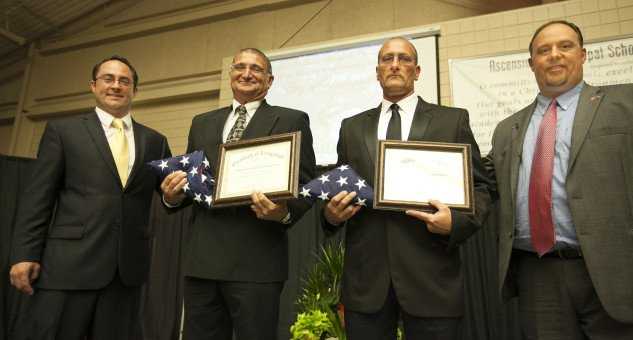 Honoring the Youngsville Police & Fire Department