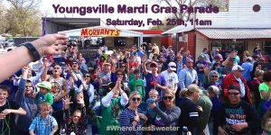 2017 Youngsville Mardi Gras Parade @ Youngsville | Louisiana | United States