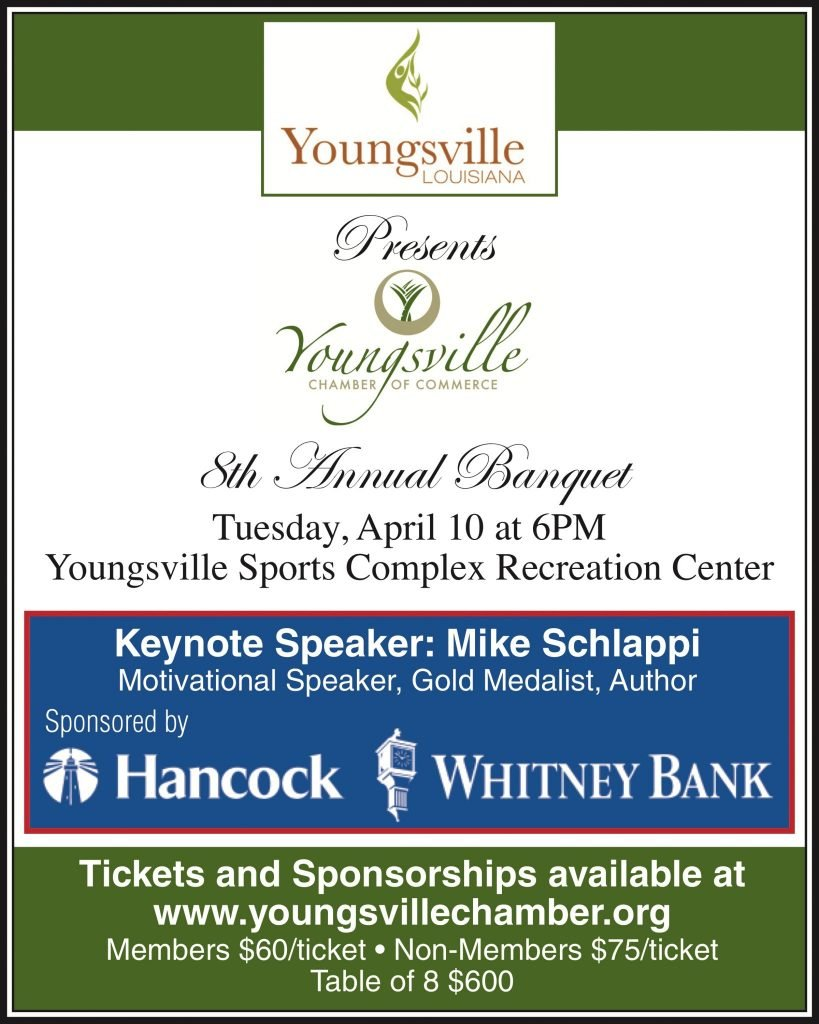 2018 Annual Youngsville Chamber Banquet
