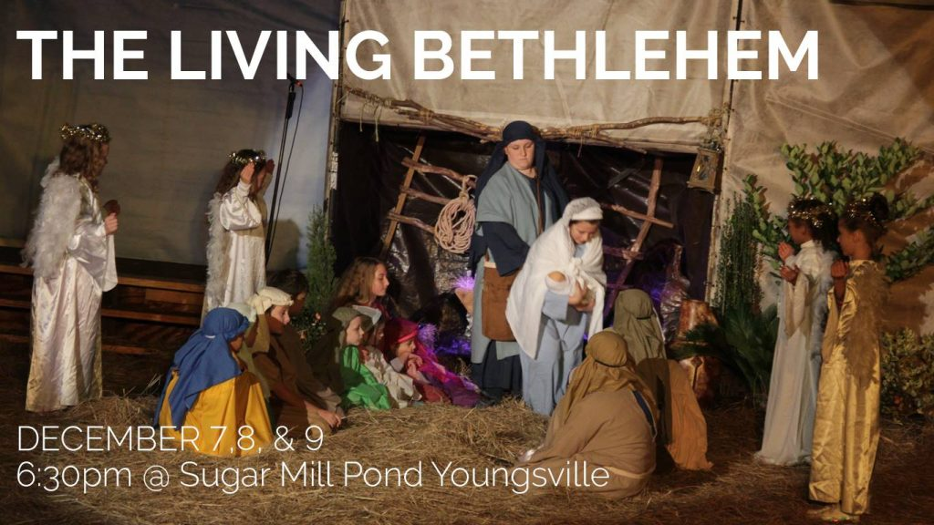 The Living Bethlehem @ Sugar Mill Pond | Youngsville | Louisiana | United States