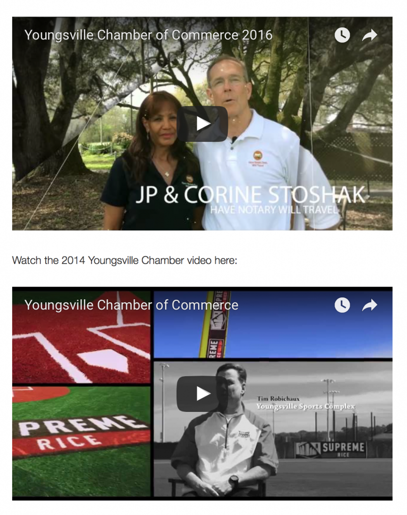 Doing Business in the City of Youngsville