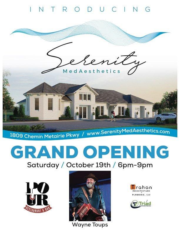 Serenity MedAesthetics Grand Opening/Ribbon Cutting @ Serenity MedAesthetics | Youngsville | Louisiana | United States
